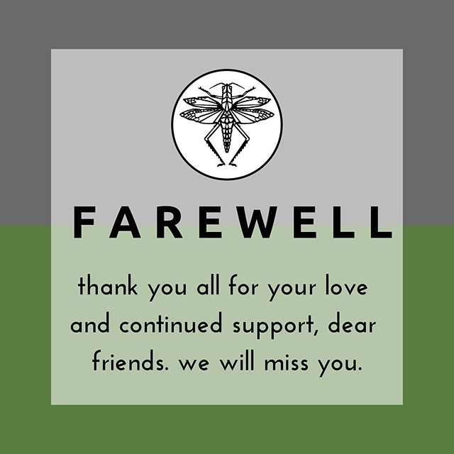 it is with much sadness (but also excitement for our future) that we bid farewell to you, sweet friends. you have been so kind and supportive of us - we are forever grateful! the ultimate goal for Plague was to open a shop and build it into a great gathering space. since moving to kansas city, we have found that space elsewhere, among our loved ones. this company has meant so much to us, it has been a learning experience for @jacobnichol and a creative outlet for me, @kelseysedelia. we are excited for the future that this business has allowed us to have! jacob is moving forward with @secondbestcoffee and taking advantage of every opportunity they have given him. i am fighting for sexual assault victims through @metoo_springfield. we are taking steps to finally start our family. this has been the most amazing journey. thank you, we love you.