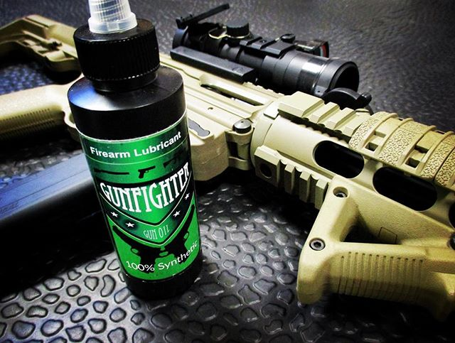 GUNFIGHTER GUN OIL - A small sample of GUNFIGHTER GUN OIL is now included inside The Omega Cleaning Kit. Pure, 100% Synthetic OilMade in the USASuperior corrosion resistanceExtreme adhesionWill not settle or separateWill not