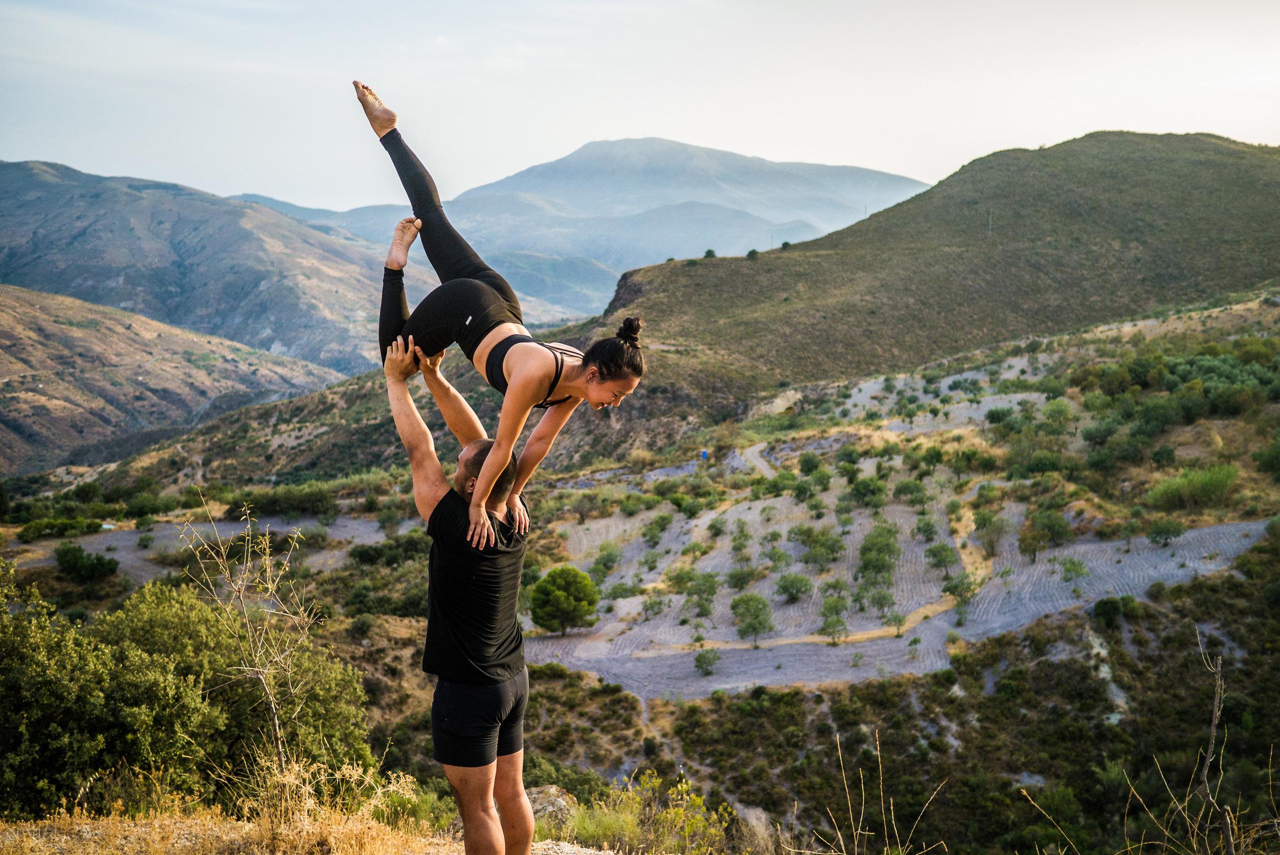Steve Farmer Photography | Partner Acrobatics Training
