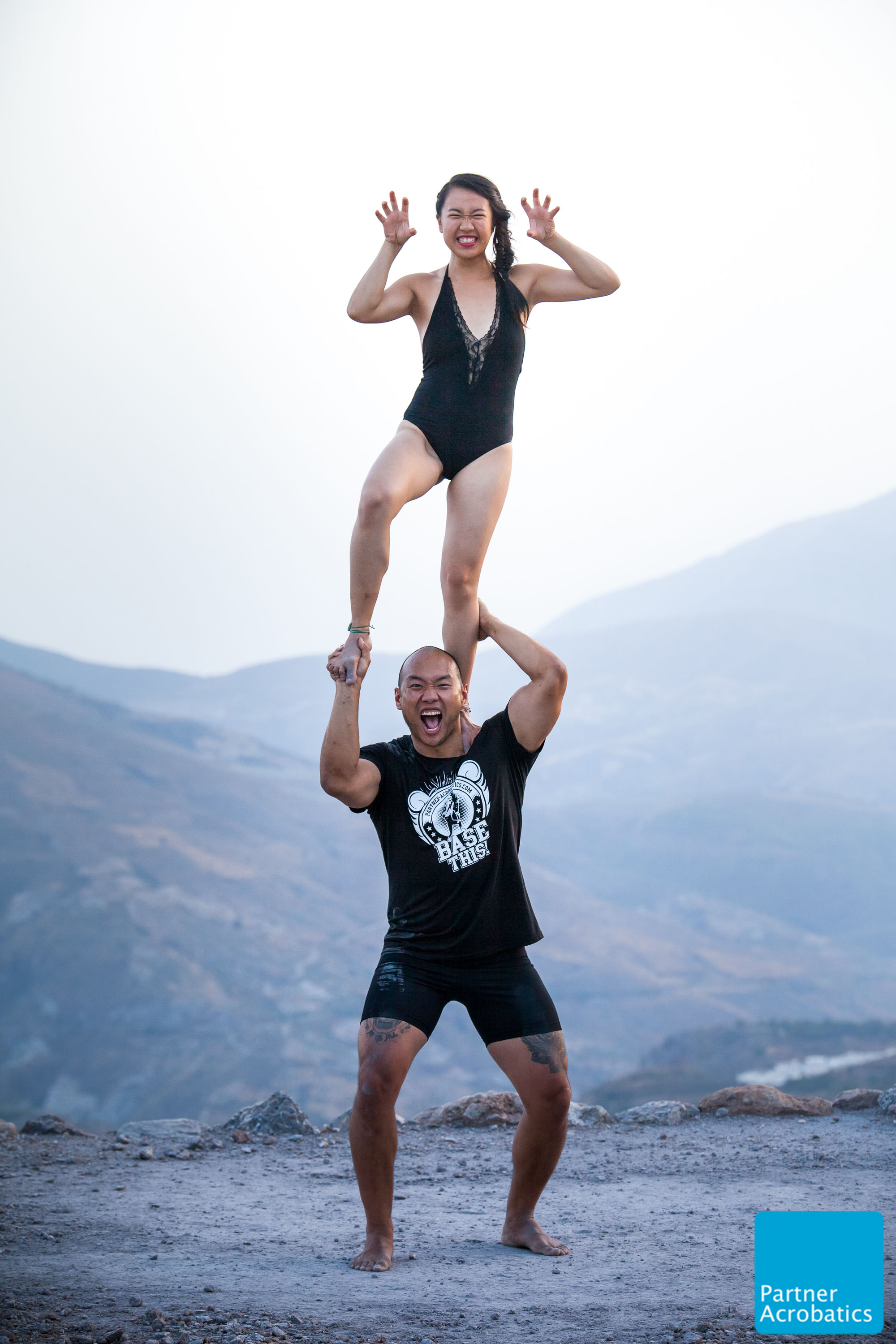 Ishine Gape Photography | Partner Acrobatics Training