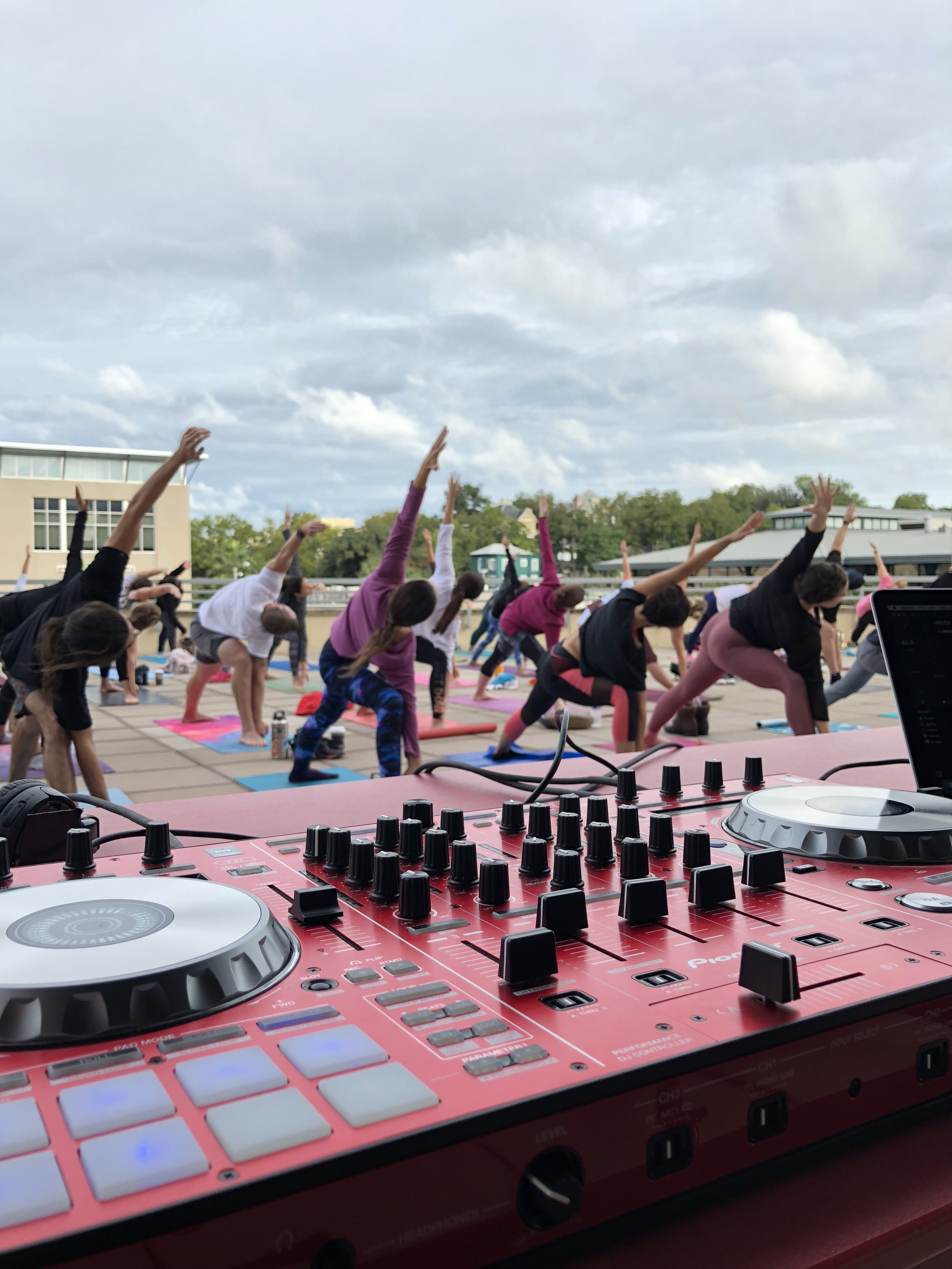 Barefoot Bootcamp at Whole Foods with TruFusion South Austin
