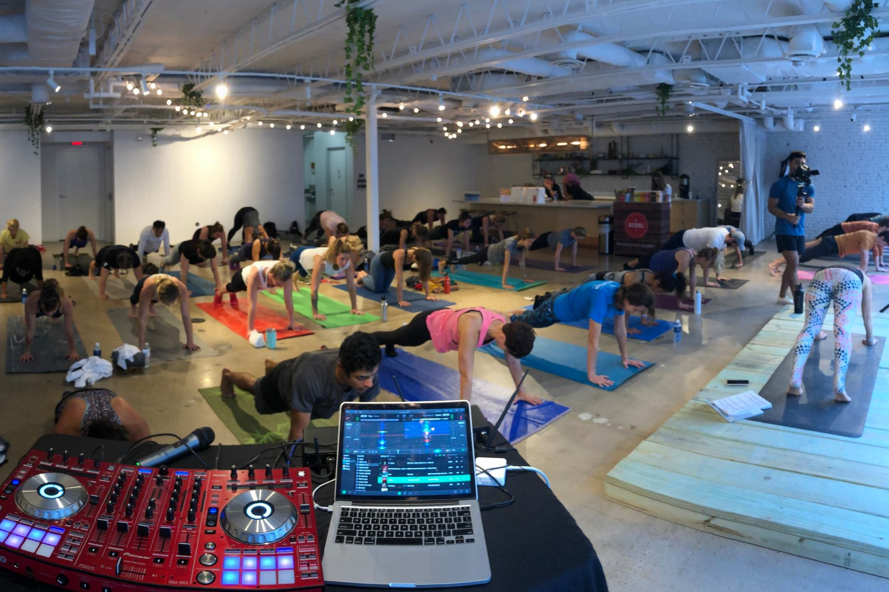 Fitness series of classes with TruFusion South Austin at the Refinery