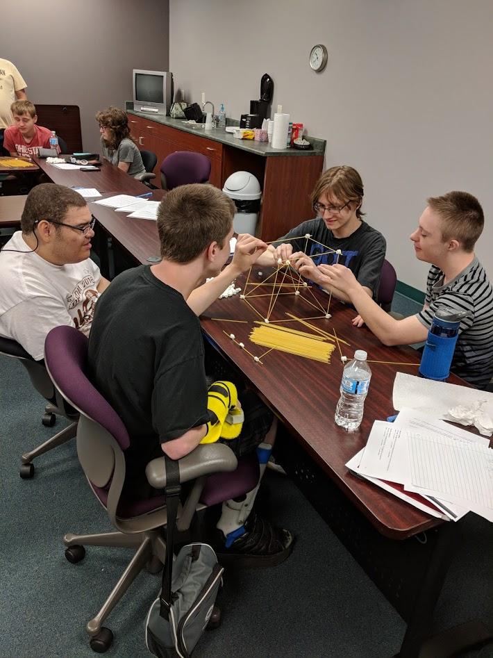 Members learning Teamwork