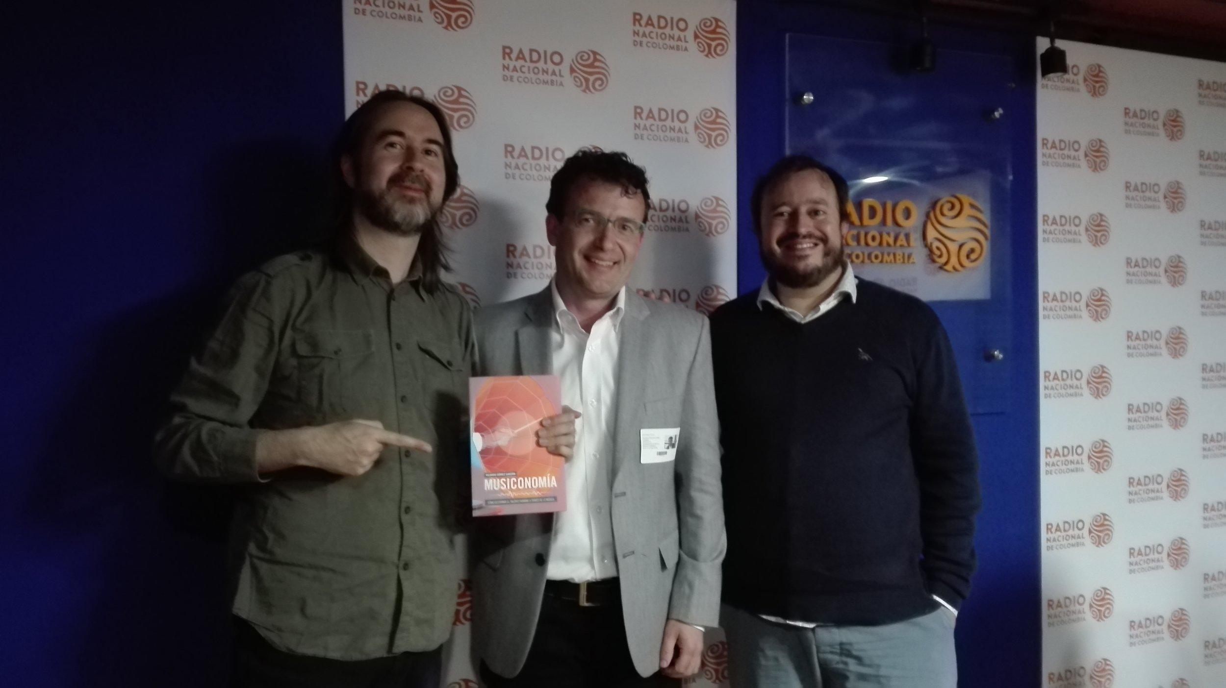 Juan Carlos Garay, Ricardo Gómez y Jaime Andrés Monsalve -