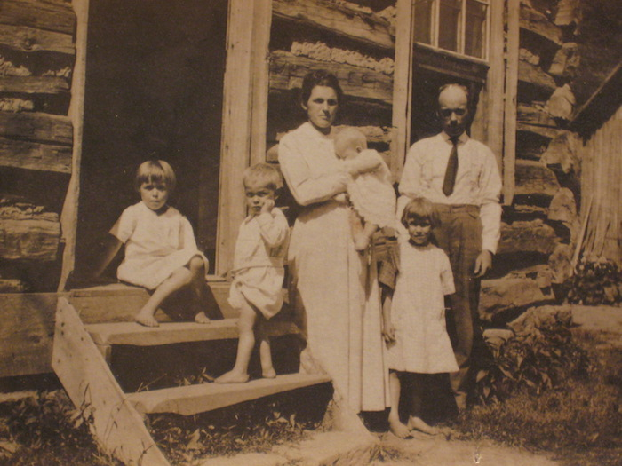 The Gatewoods with four of their children.
