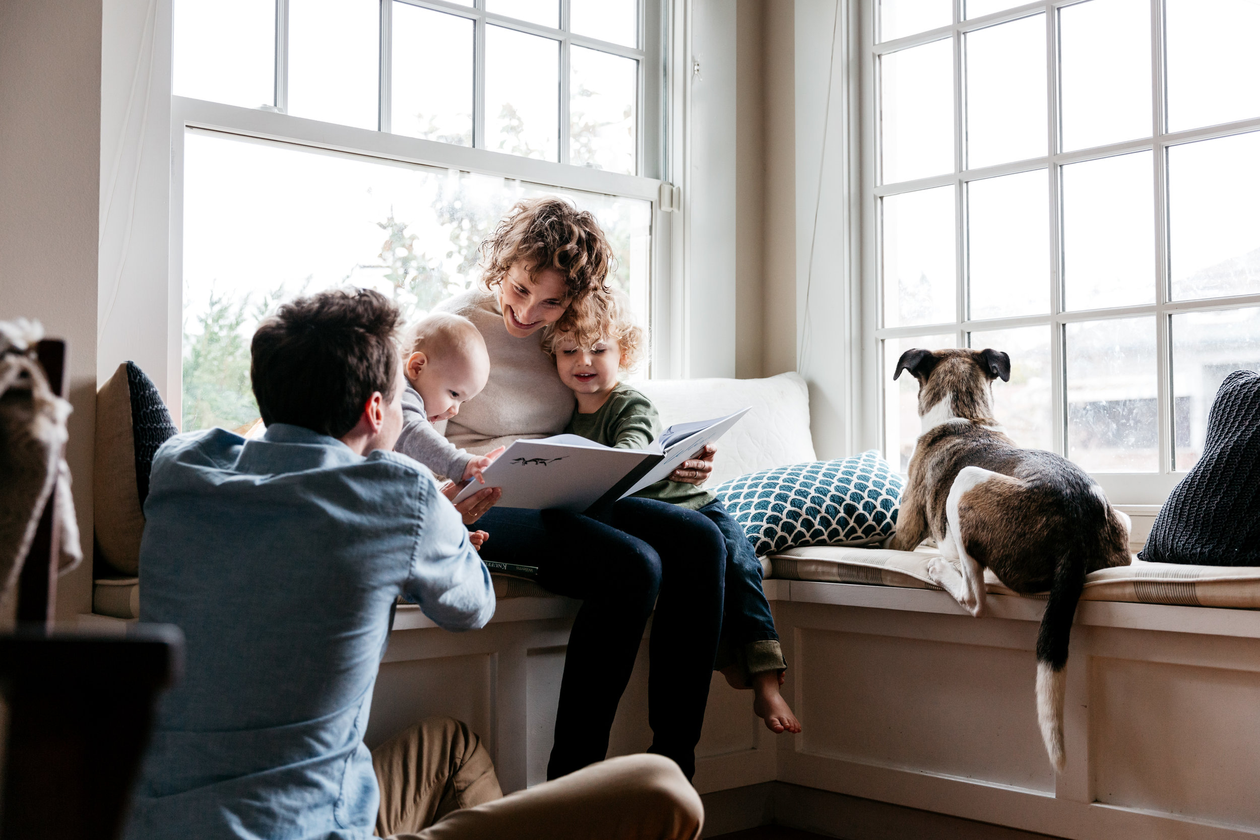 Family Sessions - in-home or at a meaningful location