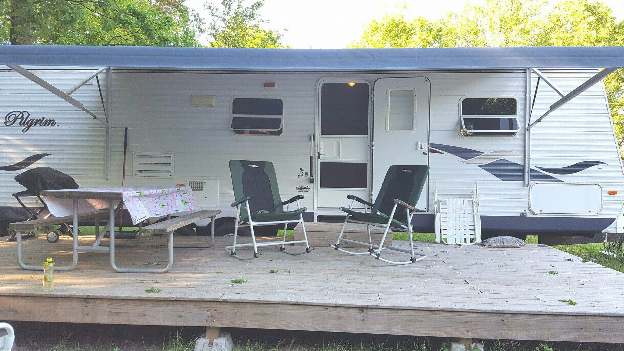 Rental Trailers (Sleep up to 6 people)Trailer #55 and Trailer #66 - Rates:$96/Night$576/Week