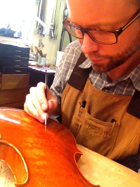 Jacob Mehlhouse- Certified Luthier - over 20 years experience - Degree in Violin Repair from Red Wing, MN  Minnesota State Southeast Technical College with Lisbeth Nelson Butler at the Red Wing Violin Repair School.After finishing my studies at Red Wing in 2000, I moved to Tulsa  to be the shop foreman and trained repairman for the Tulsa Violin Shop.    My training continued with different shops and repairman including Amos Hargrave, Horacio Piniero, and most importantly the players.   Tulsa Strings was opened in 2008 in Midtown Tulsa.  Repair and restoration are the most important part of my business.   I am trained and experienced in all repairs and restorations for the violin family instruments and bows.  Contact me, or visit if you have an instrument needing repair or simply want it checked over.