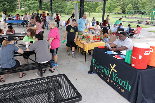 Emerald Youth Foundation at the Lonsdale International Market
