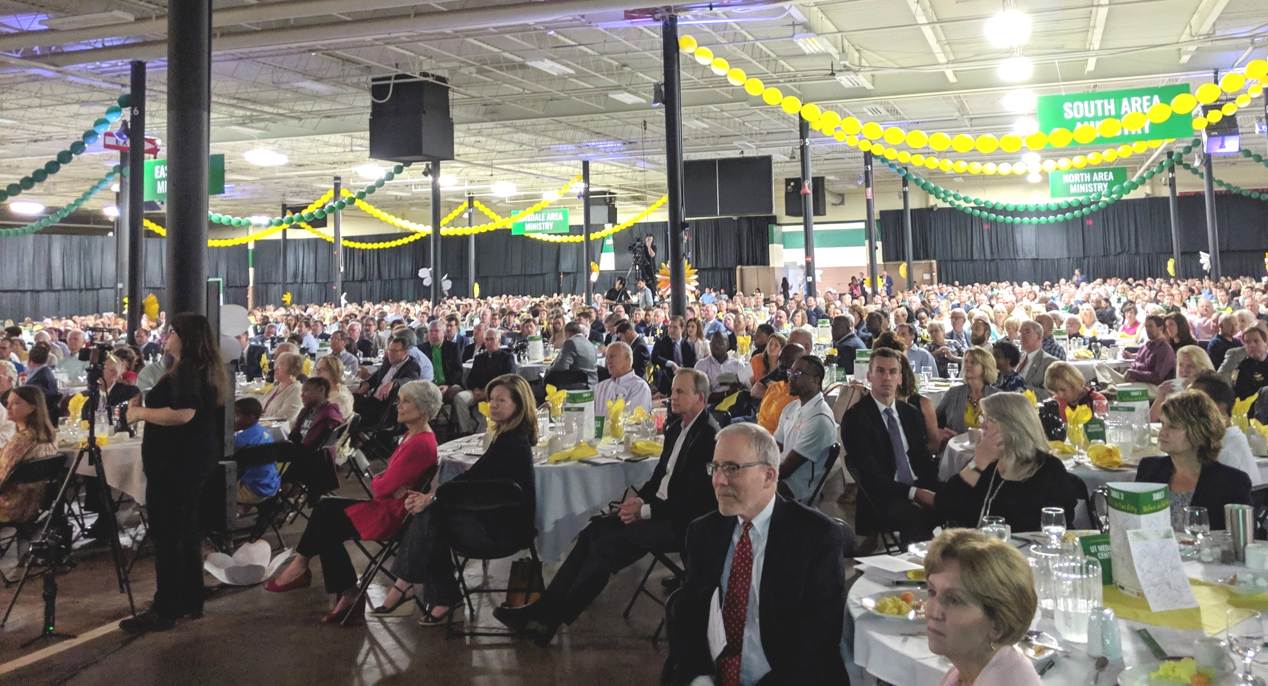 Nearly 1,900 guests attended the Emerald Youth Breakfast at the Knoxville Expo Center on May 3 and heard about the Health Center to open in Lonsdale.