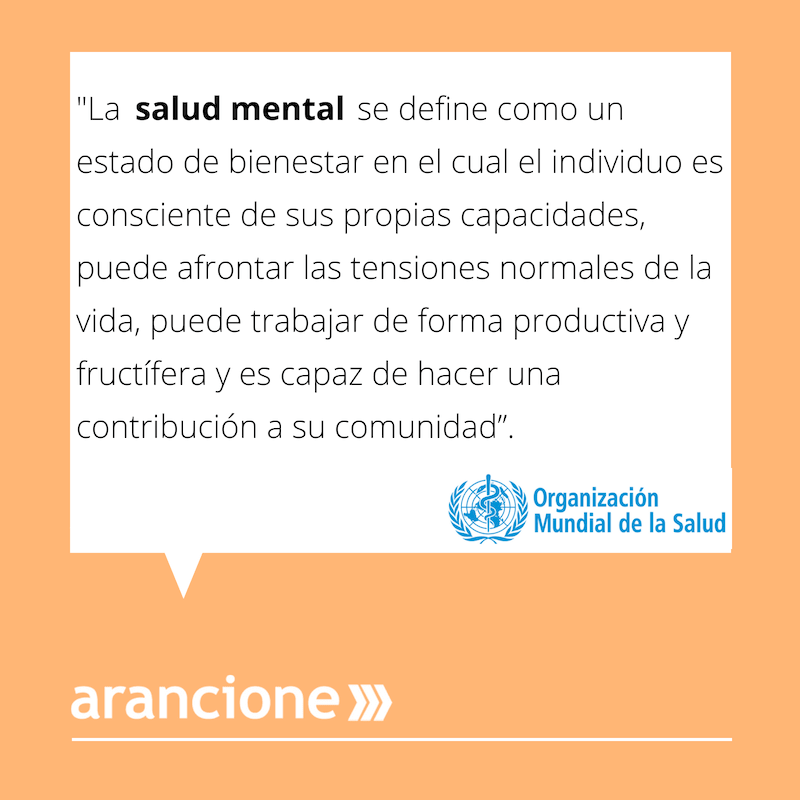 Salud Mental OMS