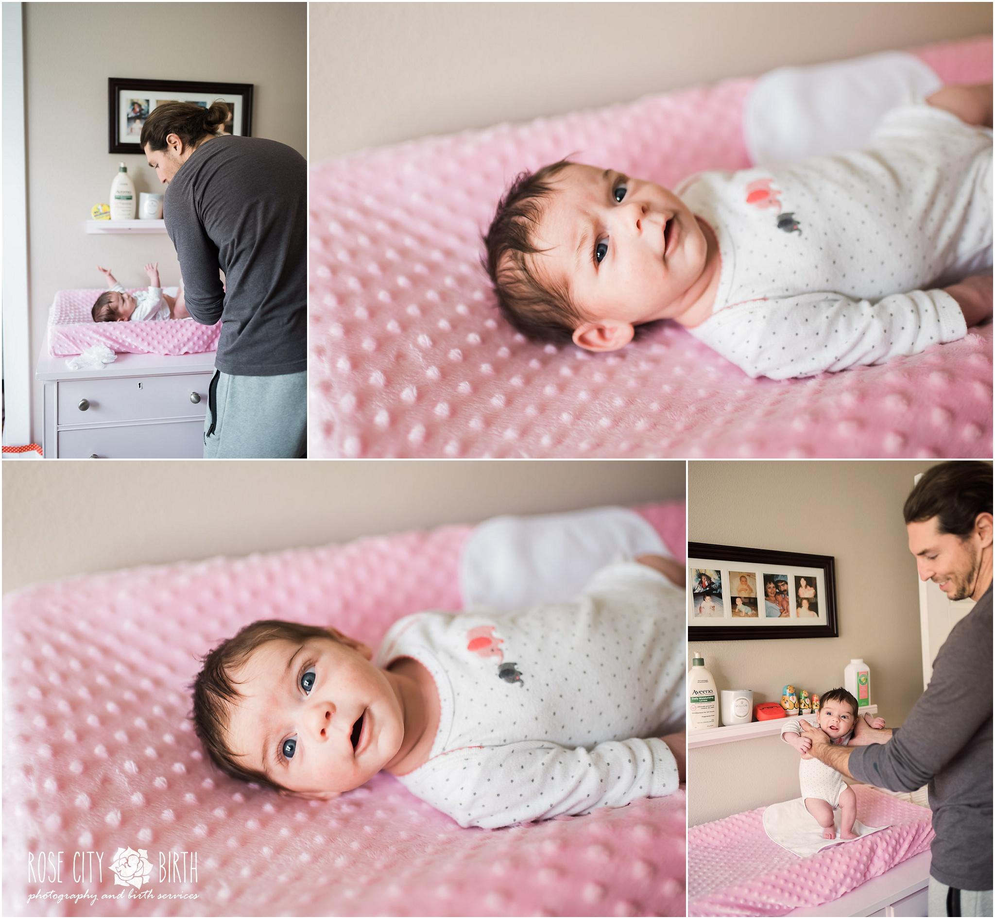 Portland Peninsula Park Maternity and Newborn Photographer_8