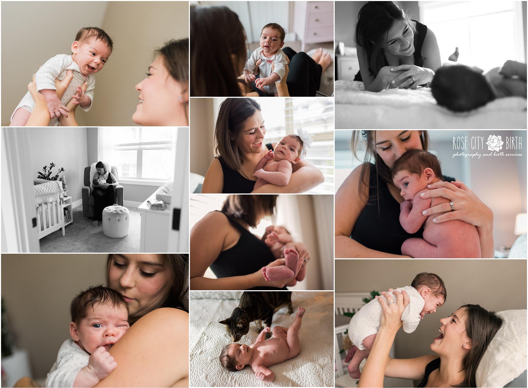 Portland Peninsula Park Maternity and Newborn Photographer_9