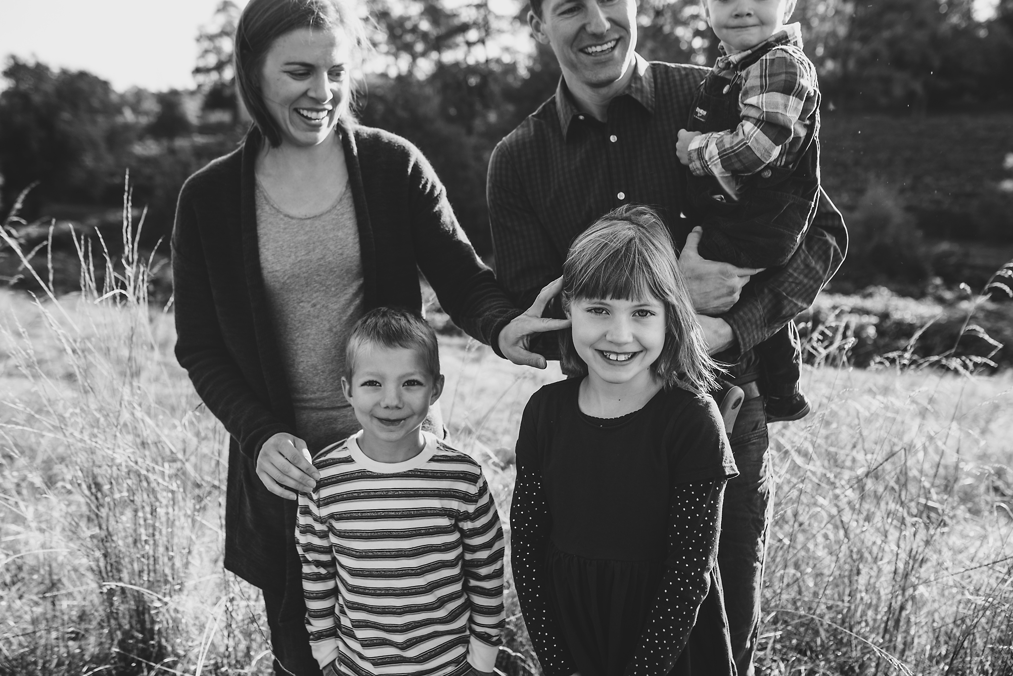 Oak and Badger family photography in Portland Oregon