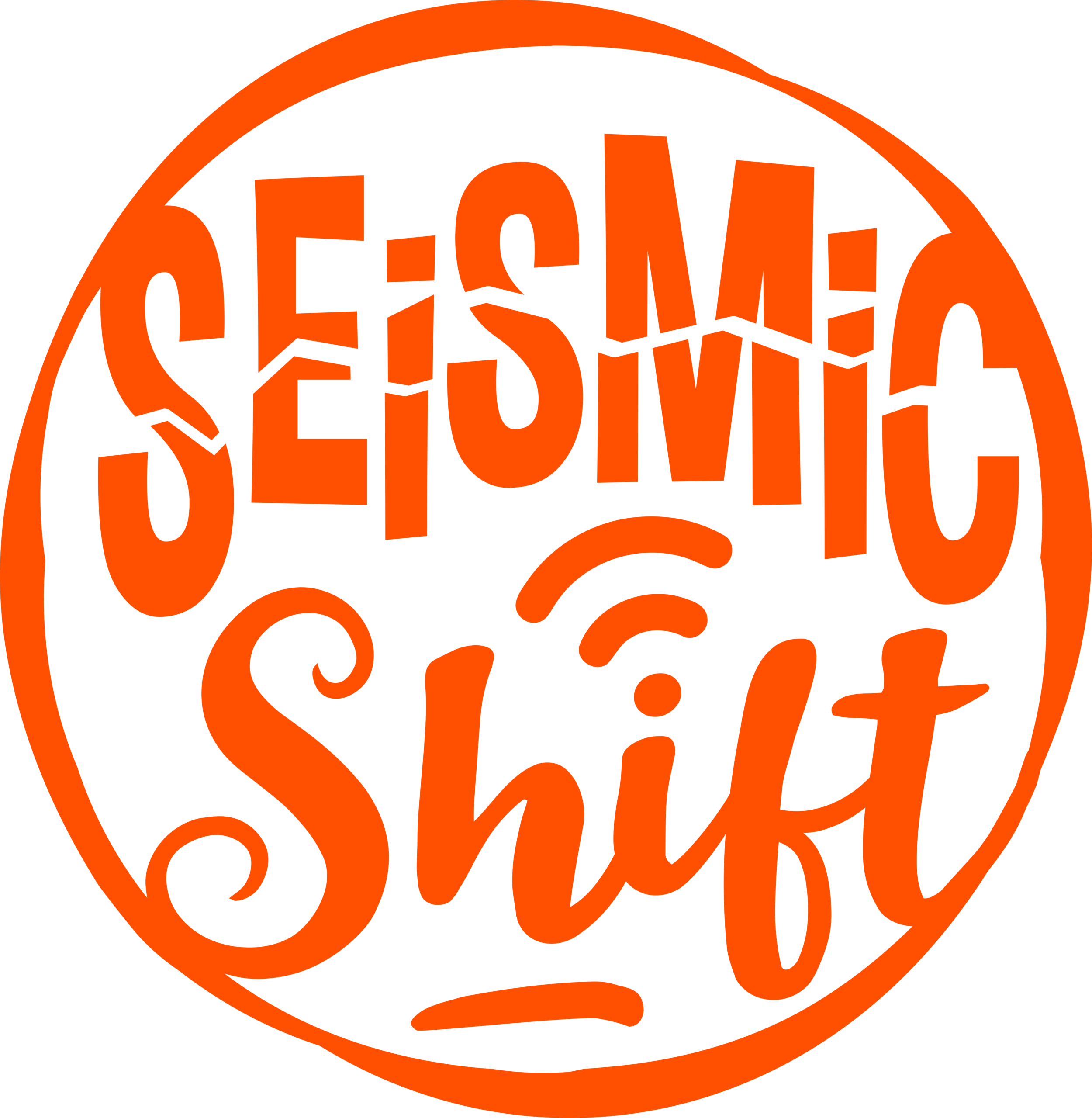 on the Seismic Shift podcast