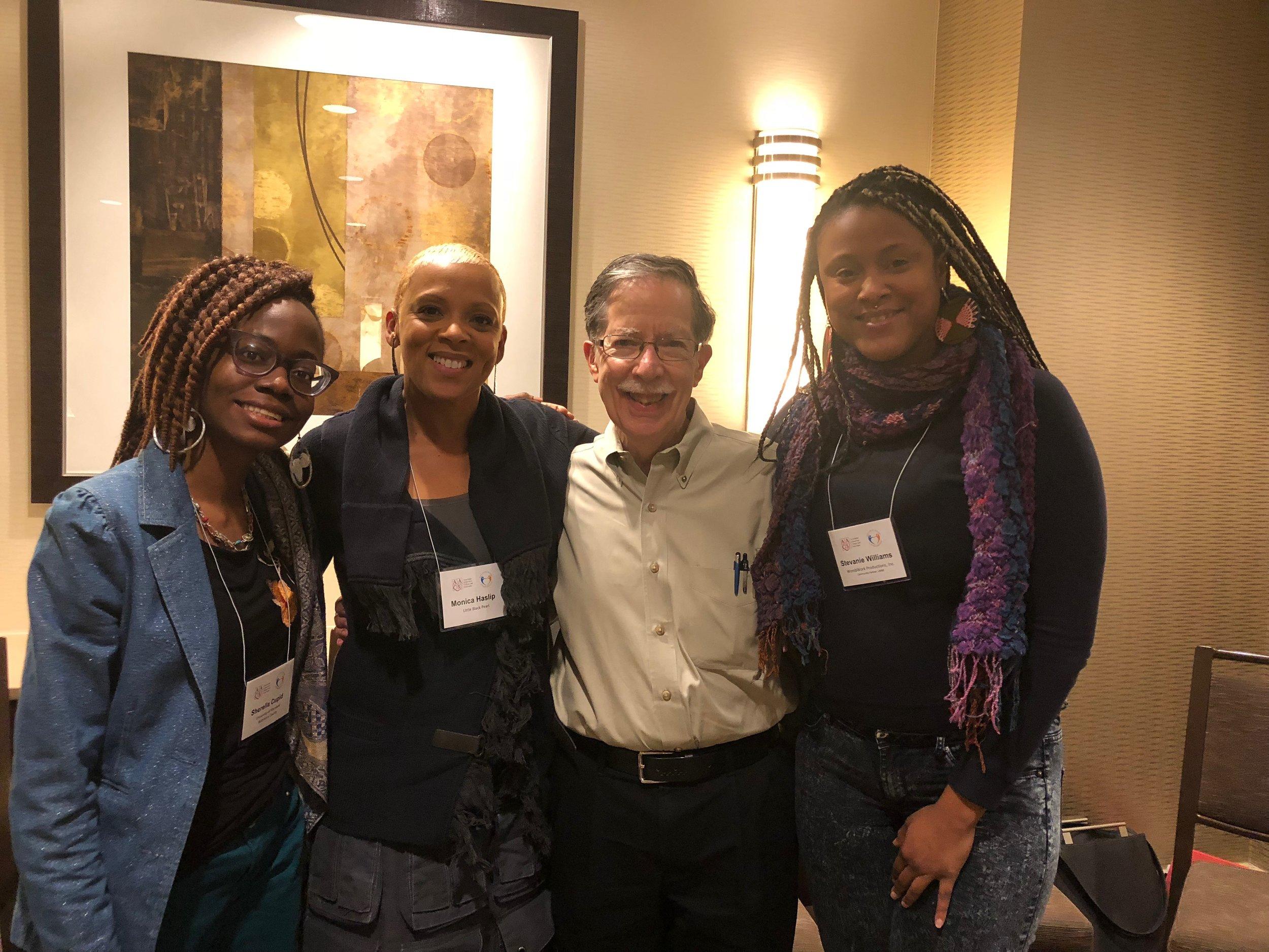 Sherella Cupid (UMBC), Facilitators: Monica Haslip, Founder/Executive Director,  Little Black Pearl  & Mike Wenger, Sr. Fellow AAC&U; Sr. Consultant on Race Relations, W.K. Kellogg Foundation, Stevanie Williams (WWP)