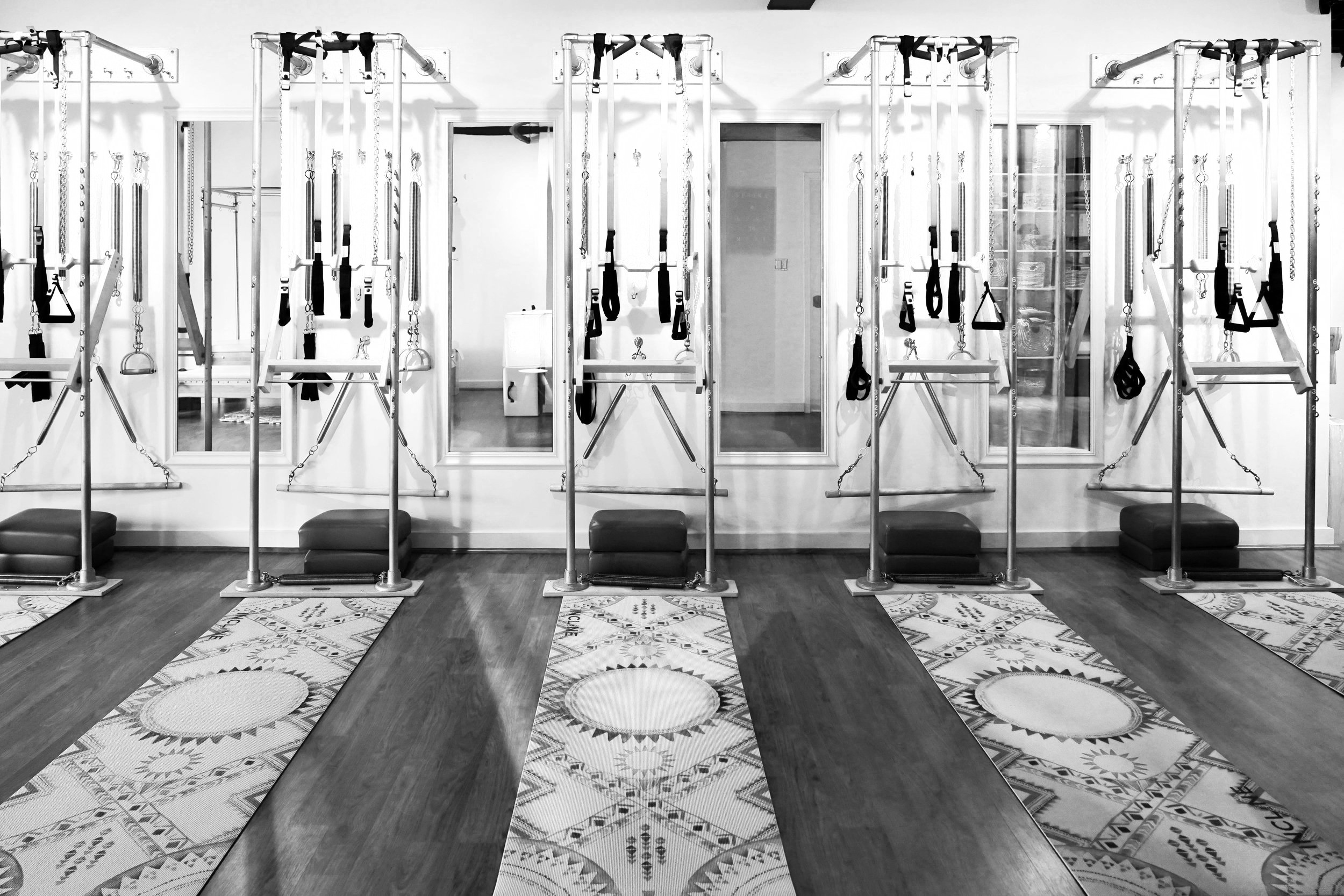 A boutique Pilates and Structural Integration studio located in downtown McLean, Virginia. -