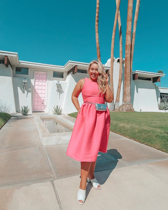 I think in a past life, I was a Palm Springs Housewife. #thatpinkdoor #pinkdoorpalmsprings @katespadeny