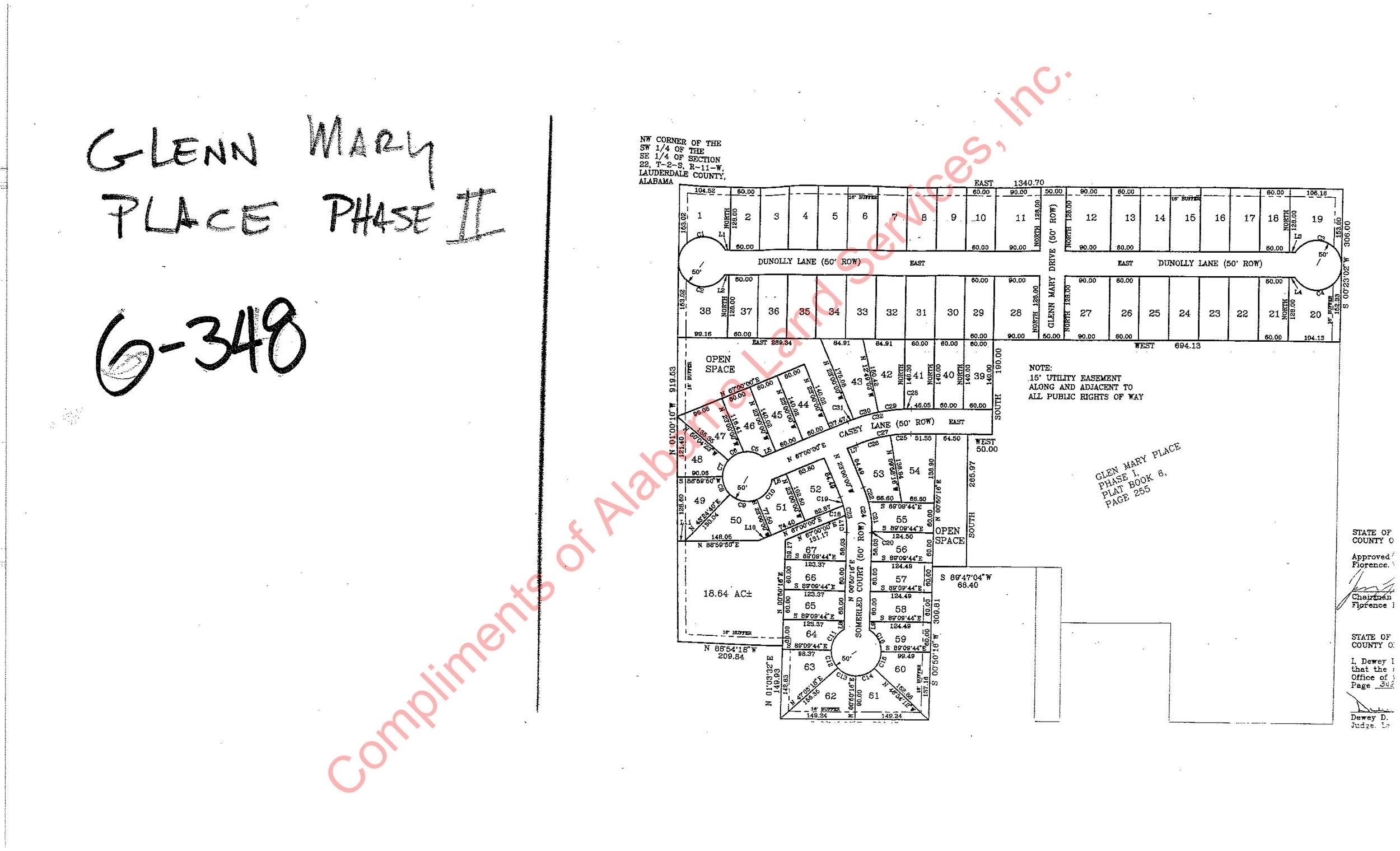 Glenn Mary Place Phase II plat-1.jpg