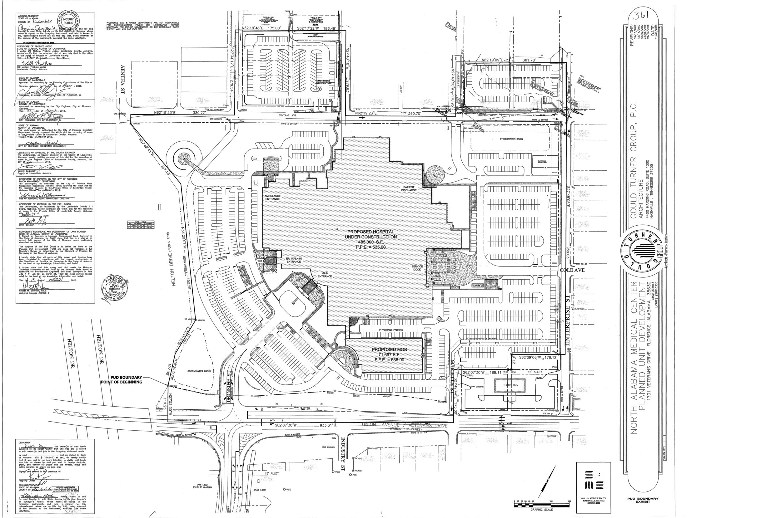 Plat-North Alabama Medical Center Planned Unit Development 361-1.png