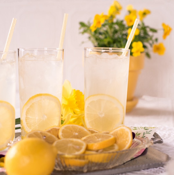 3.Lemonade - Perfect for when there may have been just a little too much canna-goodness consumed. Lemons are great for easing some of the uncomfortably high experiences that happen from going above your tolerance level. I recommend a simple homemade. 1 gallon water, 3-6 whole lemons, 10-20 drops of liquid stevia.
