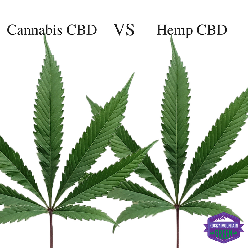 Cannabis cbd vs hemp cbd difference