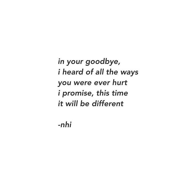 It's not always a farewell ✨