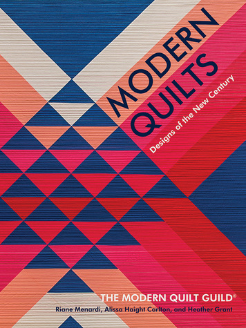 Front Cover Modern Quilts