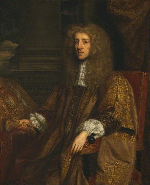 [Lord Ashley- Proprietor of Carolina to King Charles II- Photo courtesy of  National Portrait Gallery )
