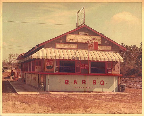 Moody's Barbecue c. 1960s-70s- Photo courtesy of  Vanishing South Georgia