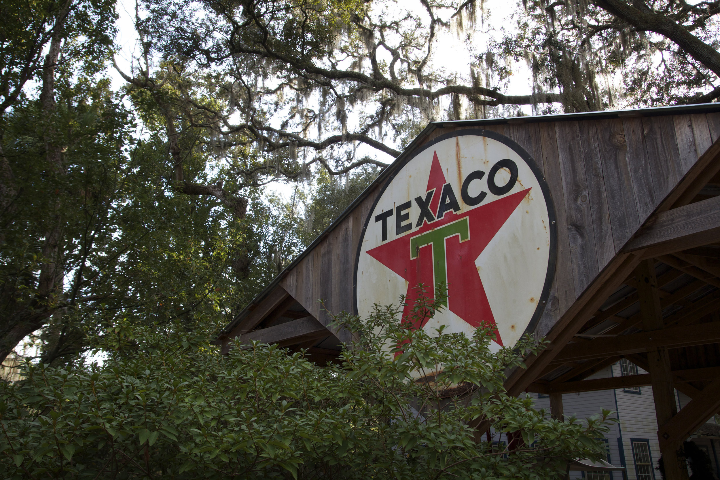 Texaco Pump - This Texaco pumping station, which still works, was installed in 1925 and is the oldest operational pump in the state of Florida