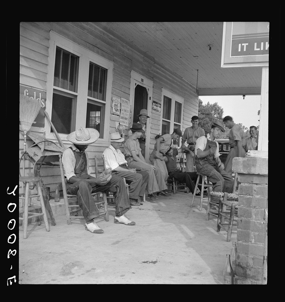 Photo by Dorothea Lange c. 1939- Courtesy of The Library of Congress