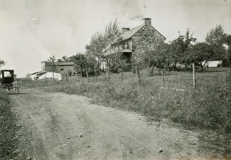 The Old Stone House in 1903-  Courtesy of the National Park Service