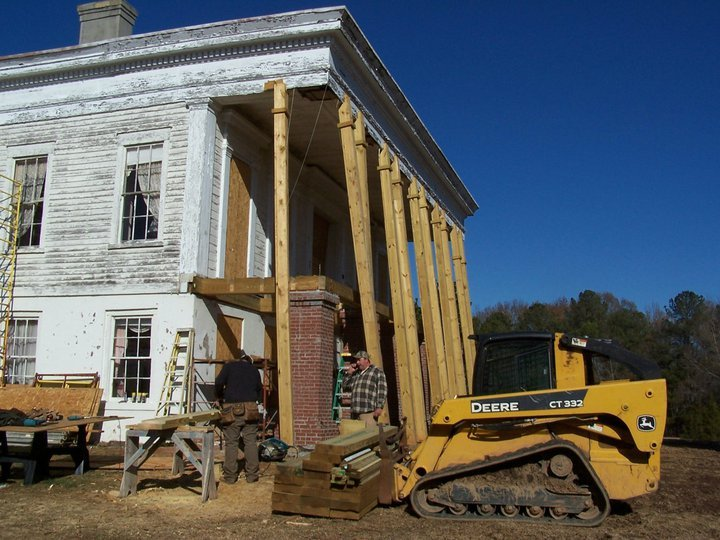 Glen Mary renovations- image courtesy of Old Georgia Homes (2011-12)