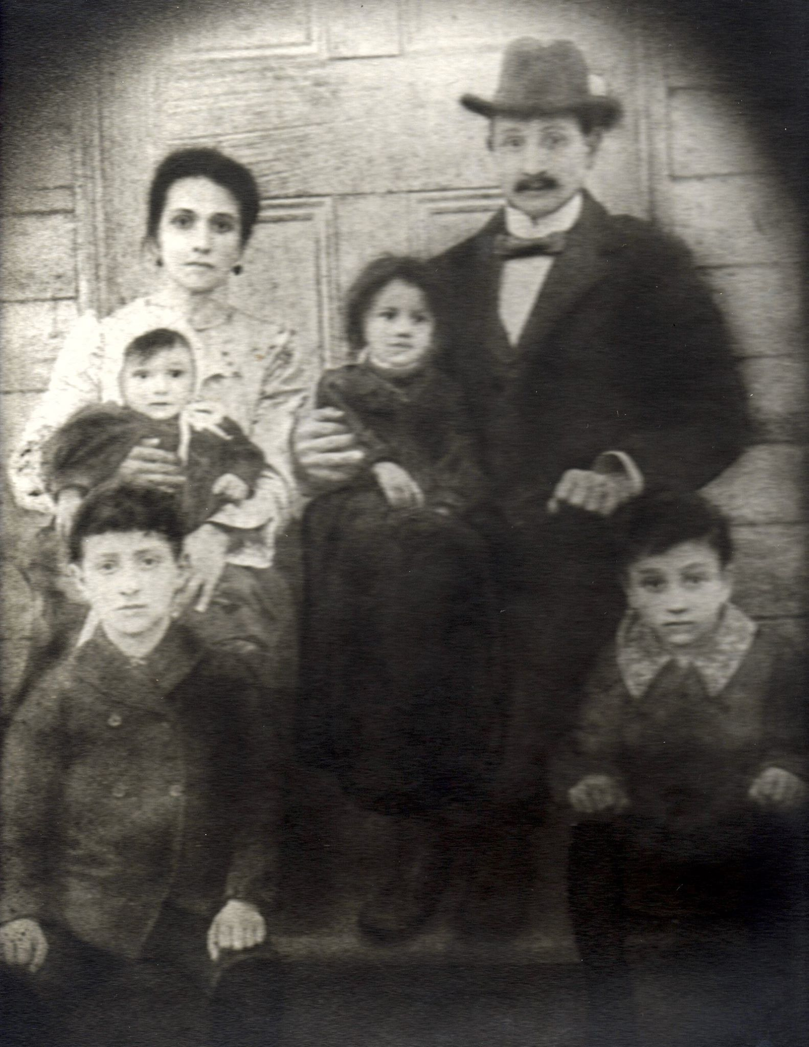 The Piazza Family- immigrants to Rodney who arrived from Italy