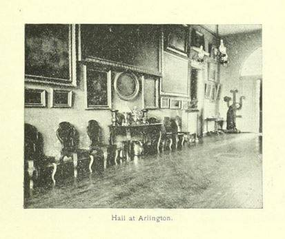 Interior Hall image with art, furnishings, and antiques