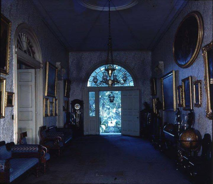 Entry foyer as it looked in the 1970s