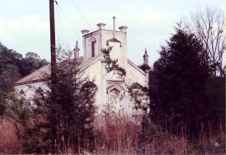 Rodney Catholic when it still sat in Rodney c. 1960s