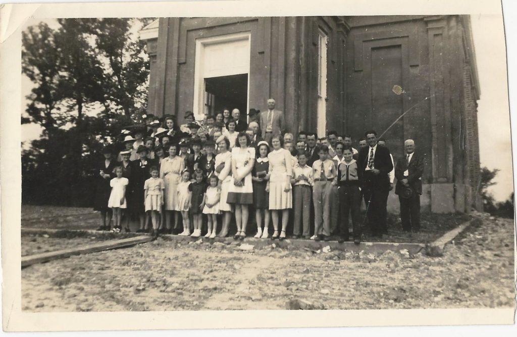 Photo c. 1940s- courtesy of  The First Presbyterian Church of Port Gibson