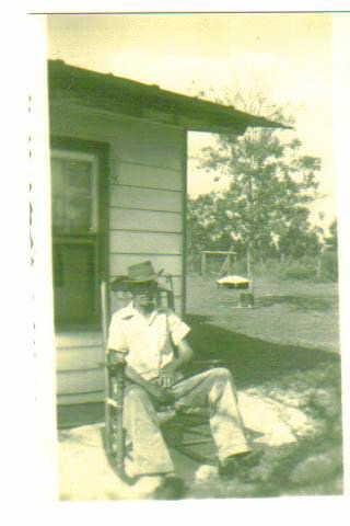 John Hall at home
