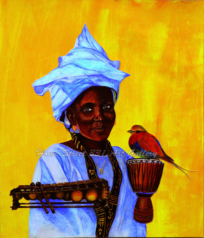 Sylvie Arlettaz Jori  她的艺术探索反映出她在内省道路上的努力,展现了人类灵魂在这个世界,尤其是非洲,那个人类起源之地的欢乐和动荡。