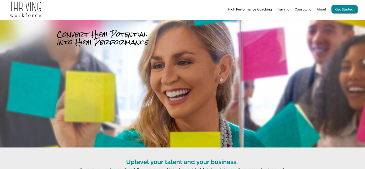 Thriving Workforce Website