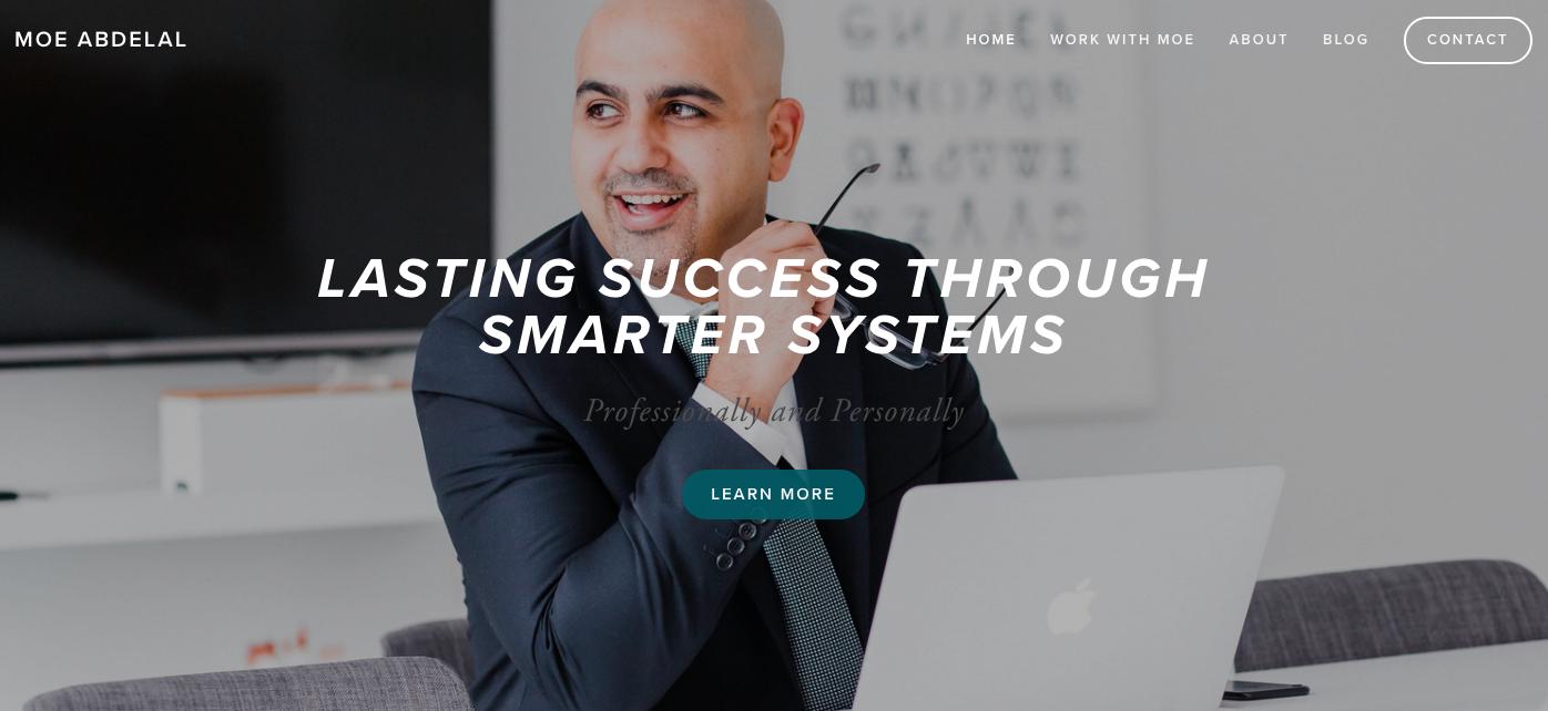 Moe Abdelal Website