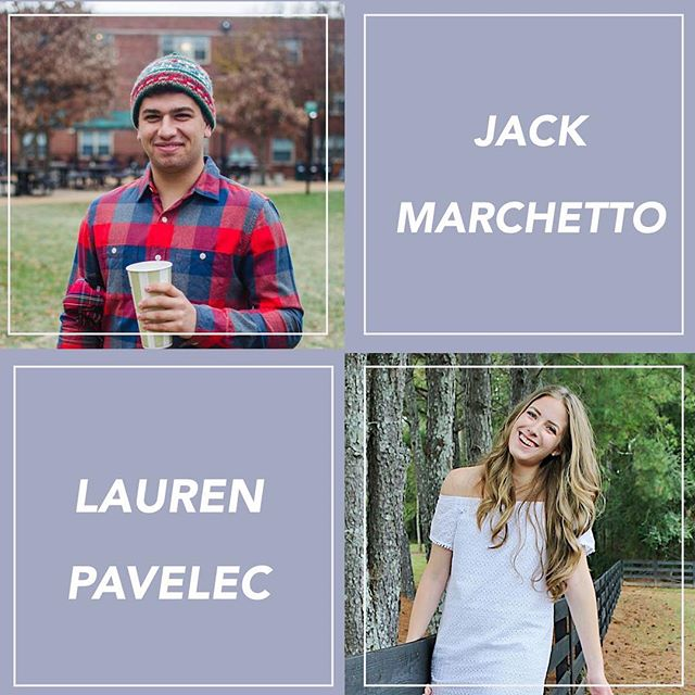 Congratulations to our Mentors of the Week @jackmarchetto7 and @laurenapavelec ✨ Head to our Facebook page to learn more about these amazing volunteers!
