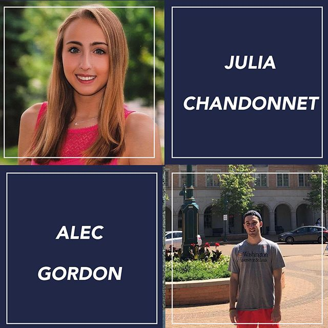 Congrats to our mentors of the week! Check out our Facebook page to learn more about them. Thank you for your great work Julia and Alec 💫