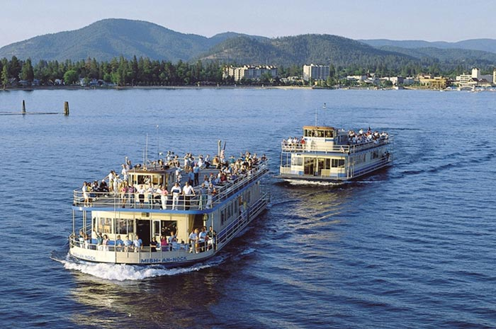 Enjoy a lake cruise during A+MD Symposia