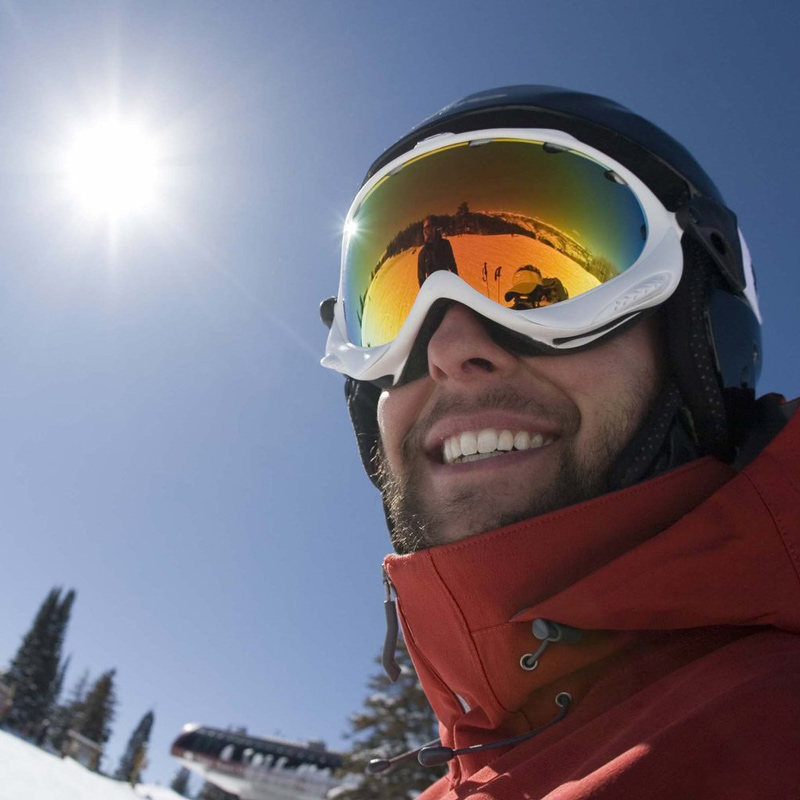 When out on the snow or ice, goggles that absorb UV, UVA and HEV rays are critical. Spend the money to have good protection! Image Courtesy: keywordsuggest.org