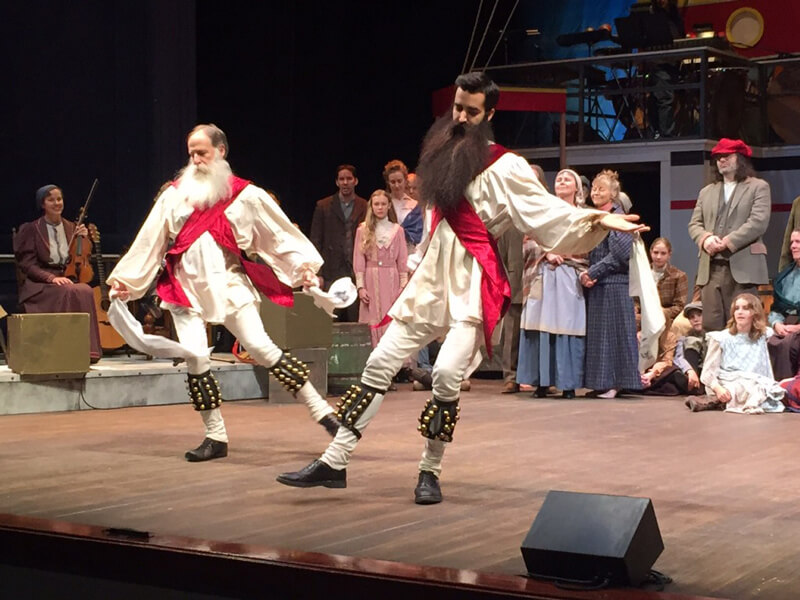 Based on an Icelandic myth, the production intertwines one of the most famous villains of Iceland, the ogress Gryla, with a Finnish story of a magical fox and the Northern Lights. The stunning choral and instrumental music spans the Nordic cultures and includes some well-known favorites along with many new discoveries. Image Courtesy: Charley and Madison Show Description Courtesy: PortlandRevels.com