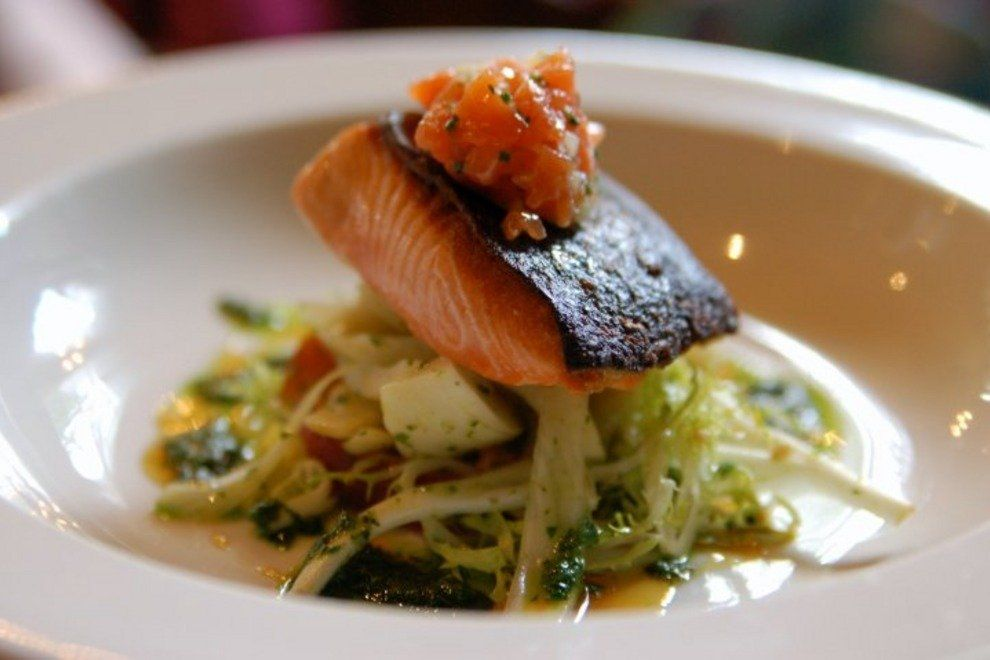 This blackened salmon dish from Le Pigeon redefines decadence. While the featured fish changes daily at Le Pigeon, I've never been disappointed! Image Courtesy: 10bestmedia.com