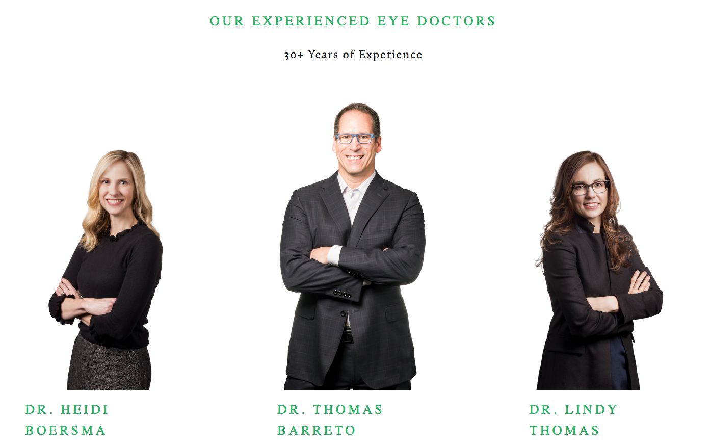 Here are three, key reasons that Eyes on Broadway has won this award 3-years running...seriously great eye doctors that offer consistent, quality care. Image Courtesy: eyesonbroadway.com